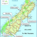 south island 150x150 South New Zealand Map