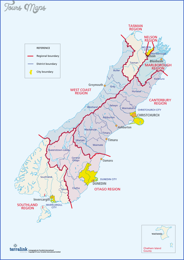 south island png png South New Zealand Map