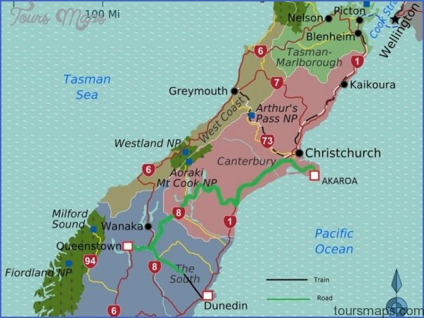 south island map 800x600 Akaroa New Zealand Map