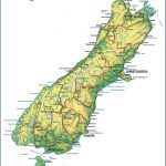 south island physical 1 150x150 Map Of New Zealand South Island