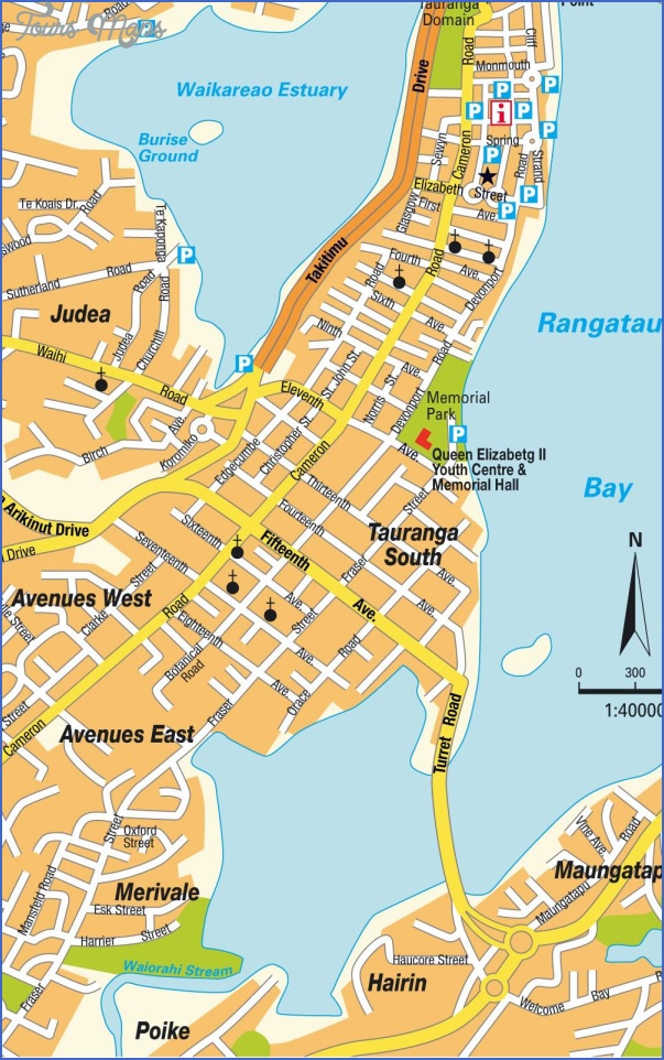 stadtplan tauranga 7954 Map Of New Zealand Airports