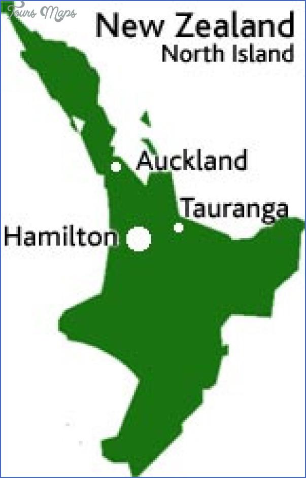 uow location Hamilton New Zealand Map