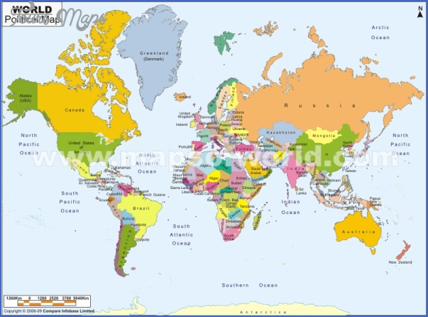 world map 1 Where Is New Zealand Located On A World Map