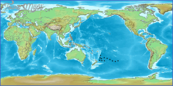 world map new zealand center World Map Of New Zealand