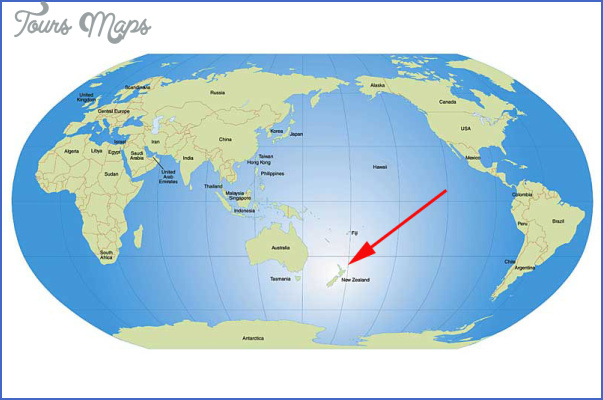 worldmap lg 2 World Map Of New Zealand
