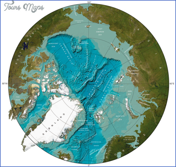 arctic gebco1 Map Of Arctic Ocean
