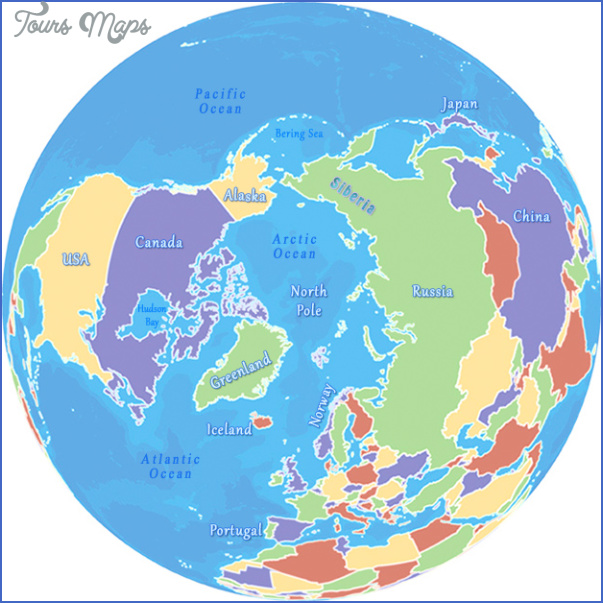 arctic maps Map Of Arctic Region