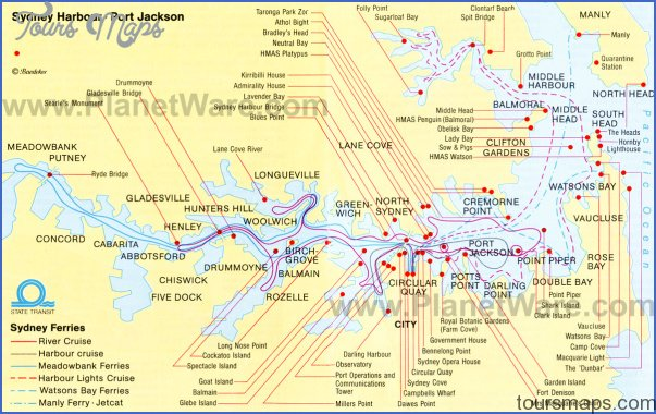 australia attractions map 1 Australia Attractions Map
