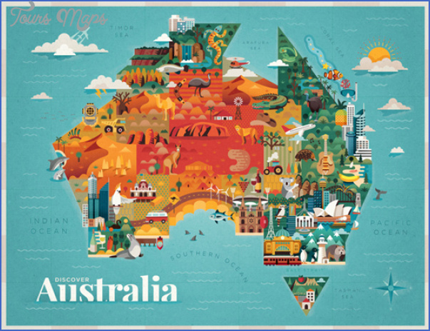 australia attractions map 10 Australia Attractions Map