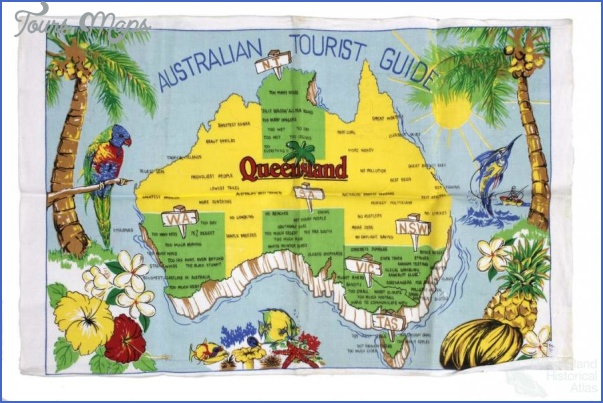 australia attractions map 14 Australia Attractions Map