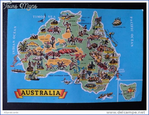 australia attractions map 9 Australia Attractions Map