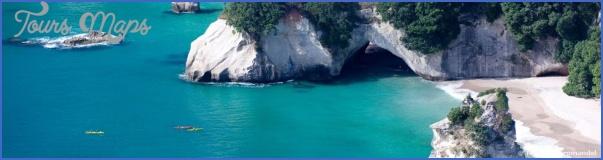 cathedral cove coastline tourism coromandel New Zealand Travel Destinations