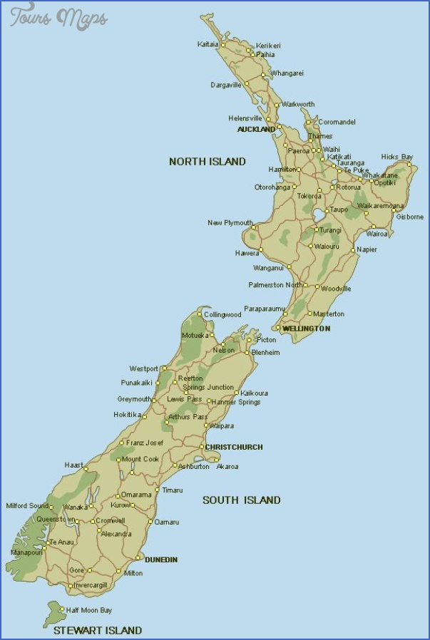 ecd7a0c1759668561b867c62e34edb3e south island places to go New Zealand Map Tourist Attractions