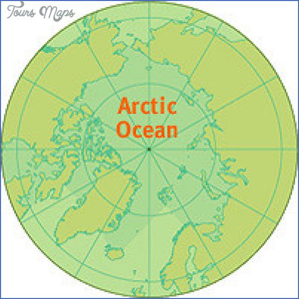 map arctic ocean 7 Map Arctic Ocean