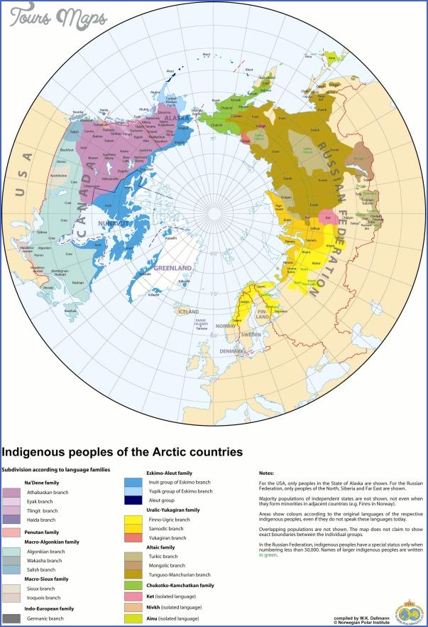 map of the arctic circle 4 Map Of The Arctic Circle