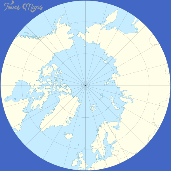 map of the arctic ocean 11 Map Of The Arctic Ocean