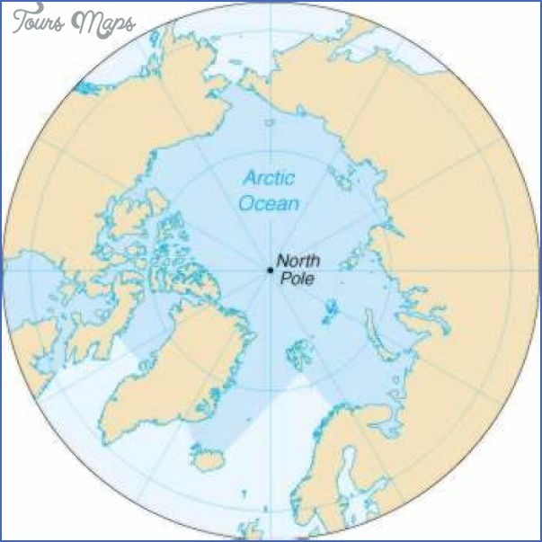 map of the arctic ocean 3 Map Of The Arctic Ocean