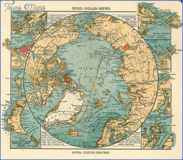 map of the arctic ocean 6 Map Of The Arctic Ocean