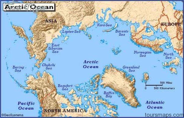 map of the arctic ocean 7 Map Of The Arctic Ocean