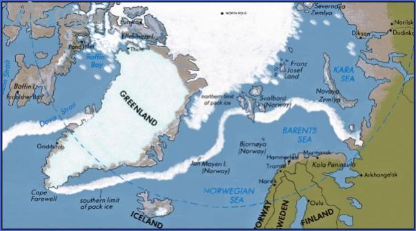 map of the arctic ocean 8 Map Of The Arctic Ocean