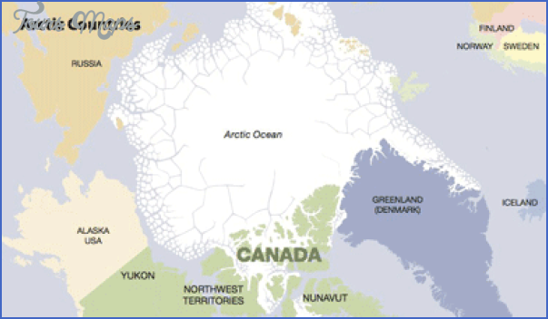map of the arctic region 17 Map Of The Arctic Region