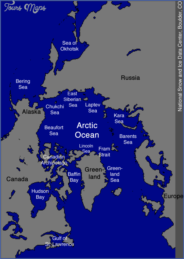 map of the arctic 11 Map Of The Arctic