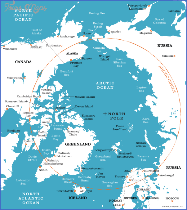 map of the arctic 5 Map Of The Arctic