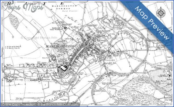marlborough 1899 hosm34894 large Marlborough, Wiltshire Map