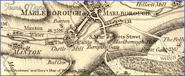marlborough wiltshire map tourist attractions 34 Marlborough, Wiltshire Map Tourist Attractions