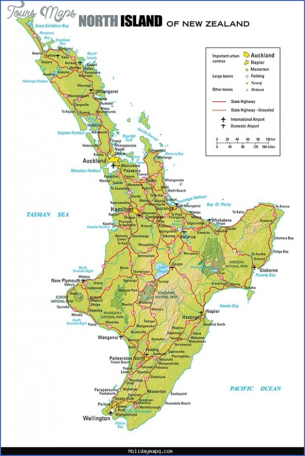 new zealand region maps New Zealand Map Tourist Attractions