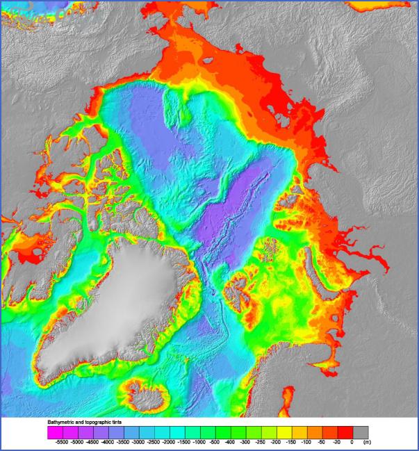 version11024 Map Of Arctic Ocean