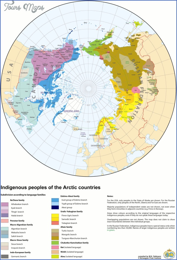 world map with arctic circle 9 World Map With Arctic Circle