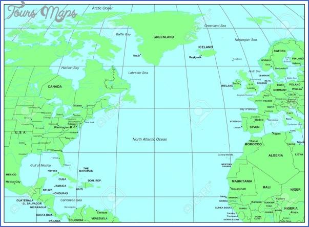 atlantic map geographical  10 Atlantic Map Geographical