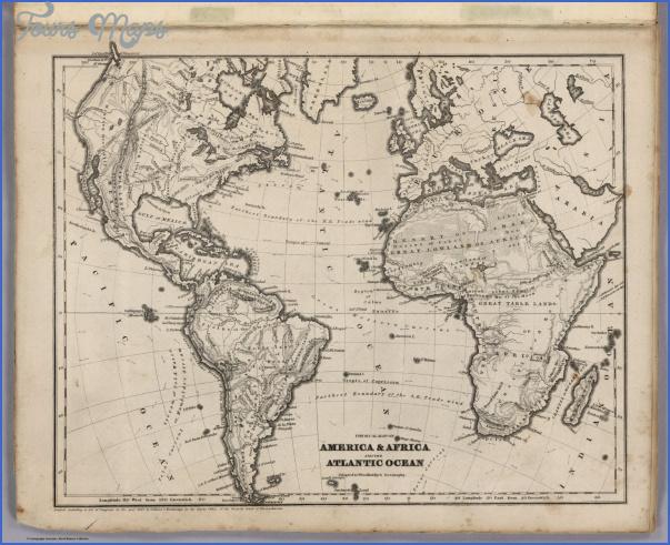 atlantic map geographical  6 Atlantic Map Geographical