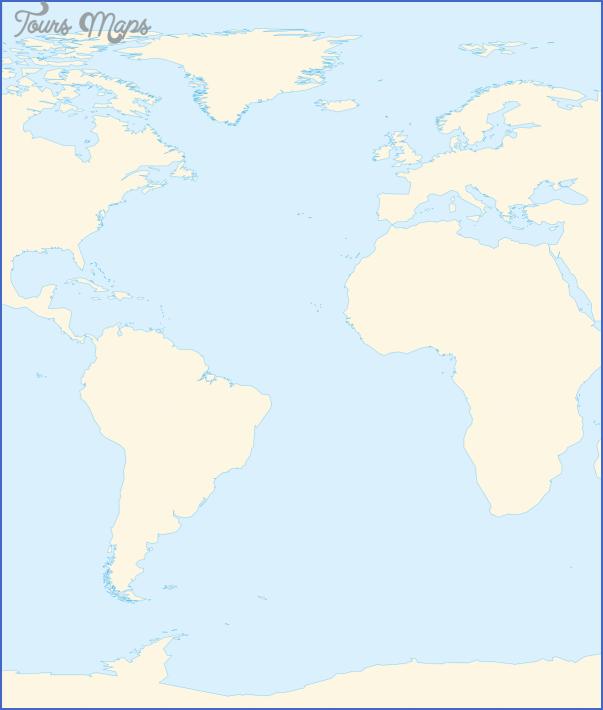 atlantic map geographical  9 Atlantic Map Geographical