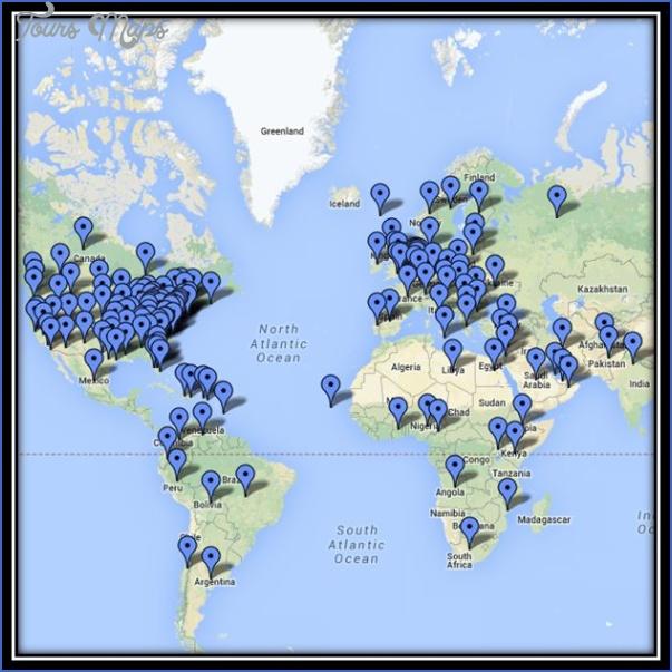 atlantic map google 13 Atlantic Map Google