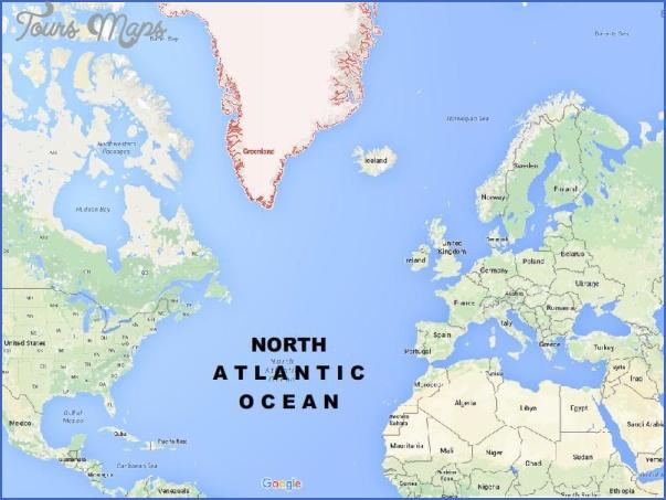 atlantic map google 14 Atlantic Map Google