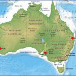 australia map geographical  14 150x150 Australia Map Geographical