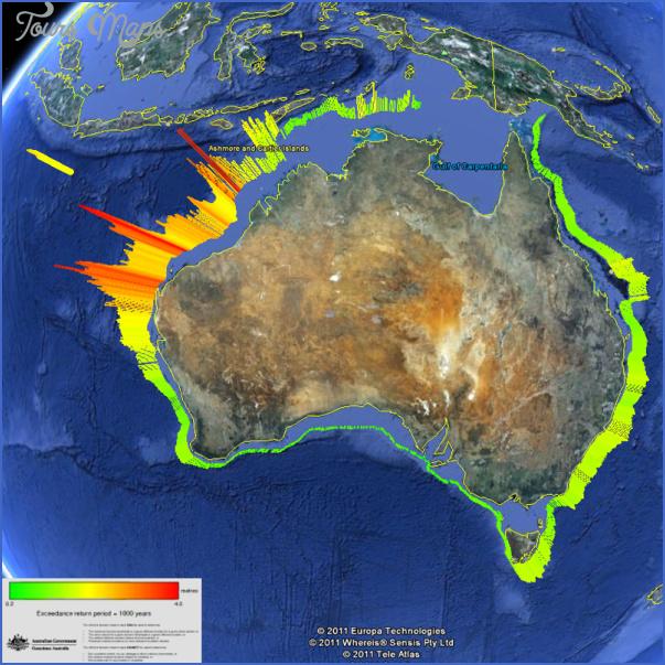 australia map google earth  4 Australia Map Google Earth