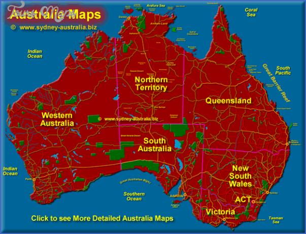 australiamaps Australia Map Images