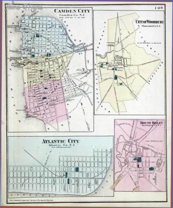 camdencityatlanticcity Atlantic Map With Cities