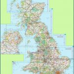 large detailed map of uk with cities and towns 150x150 England Map Detailed