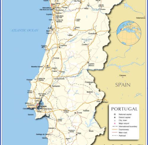 City Map App Archives Map Travel Holiday Vacations - Portugal map app