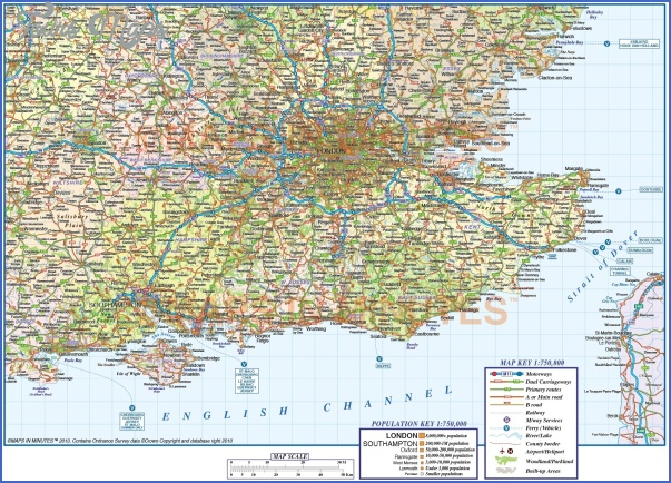 seeng7501stroadrailmain England Map Detailed