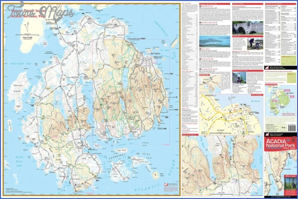 acadia national park hiking map 6 Acadia National Park Hiking Map