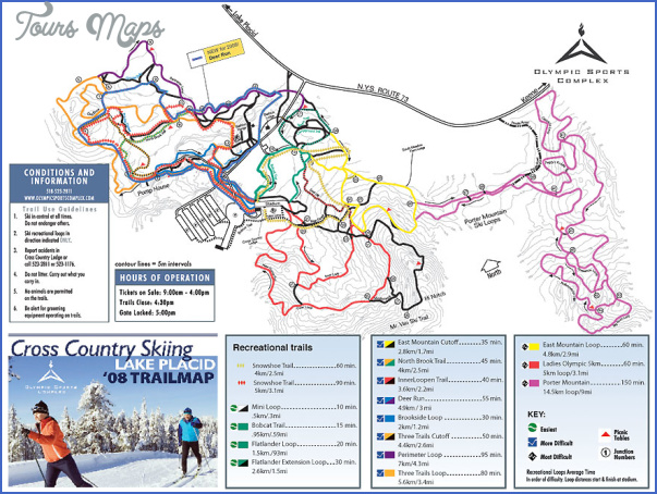 adirondack hiking map 13 1 Adirondack Hiking Map