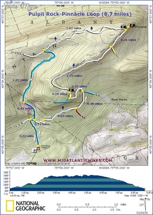 appalachian trail hiking map 13 Appalachian Trail Hiking Map