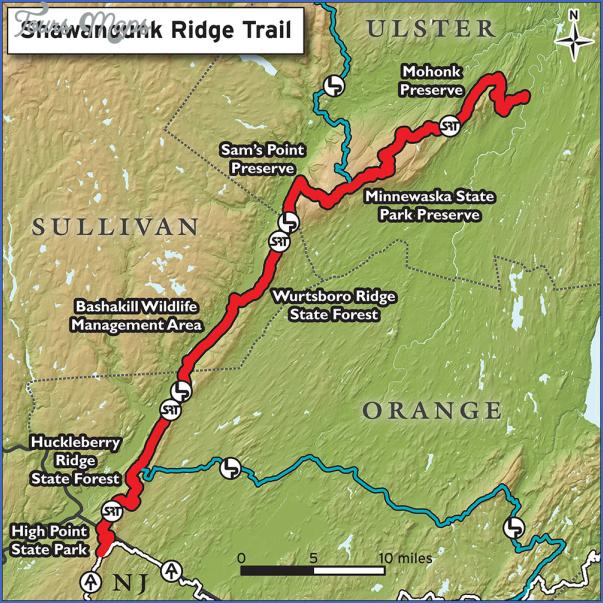 appalachian trail hiking map 8 Appalachian Trail Hiking Map