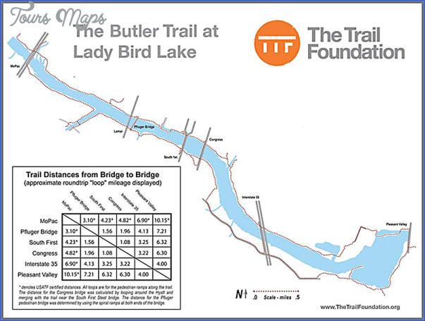 austin hike and bike trail map 10 Austin Hike And Bike Trail Map