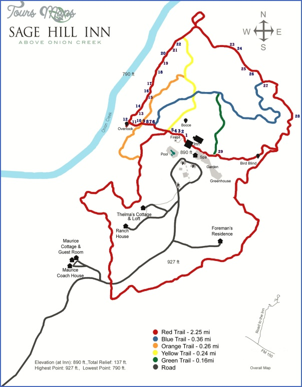 austin hike and bike trail map 14 Austin Hike And Bike Trail Map